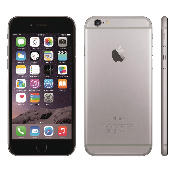 Apple iPhone 6 16GB Grey Grade A Refurbished UK REV03009010205150003
