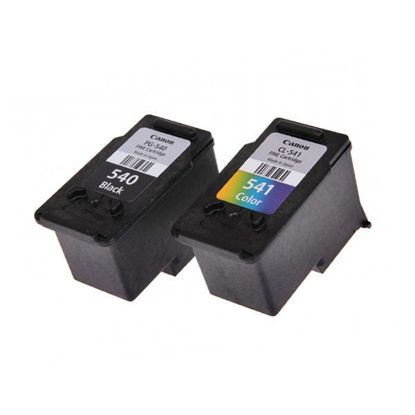 canon pg 540 cl 541 black colour inkjet cartridges 2 pack 5225. Black Bedroom Furniture Sets. Home Design Ideas
