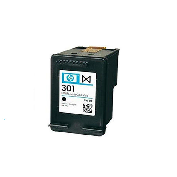 hp 301 black ink cartridge ch561ee. Black Bedroom Furniture Sets. Home Design Ideas